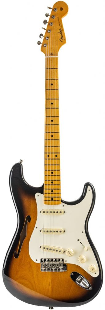 Fender Eric Johnson Thinline Stratocaster, Maple , 2-Color Sunburst Ex Display